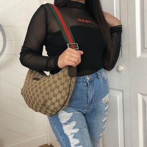Gucci web crossbody bag